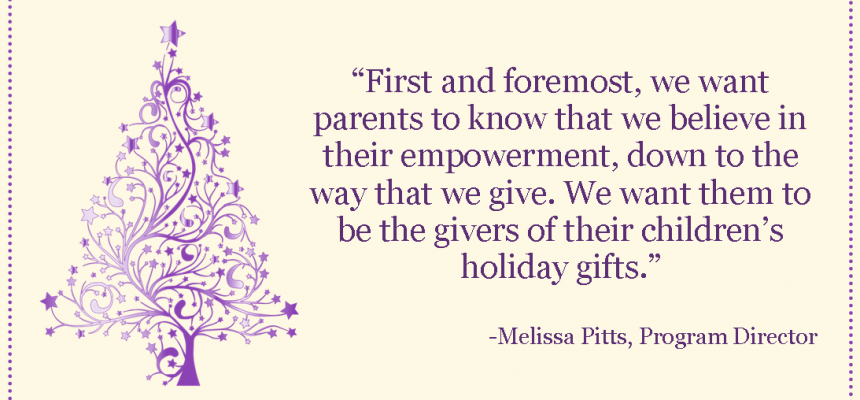 Holiday Store Interview with Program Director Melissa Pitts