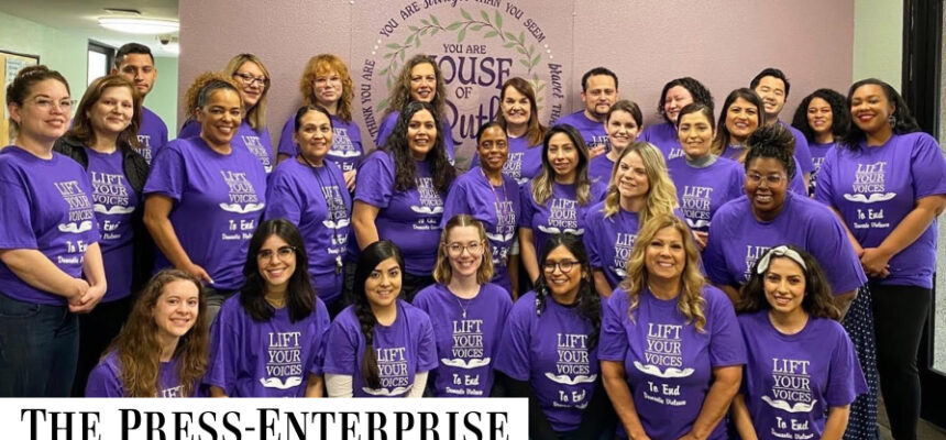House of Ruth featured in the Press-Enterprise Newspaper.